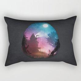 Young Astronomer Rectangular Pillow