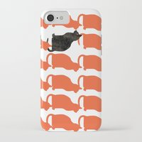 contemporary iPhone & iPod Cases featuring CATTERN SERIES 2 by Catspaws