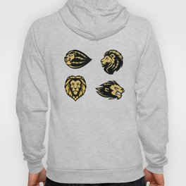 Mean Face Lion Hoody