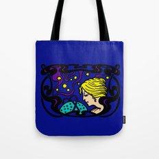 Mystical Art Nouveau Astral Woman Tote Bag