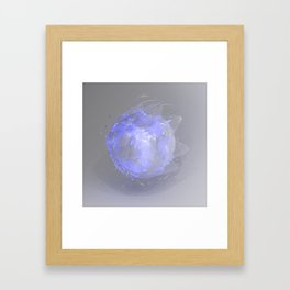 Loose Particles, 2017 Framed Art Print