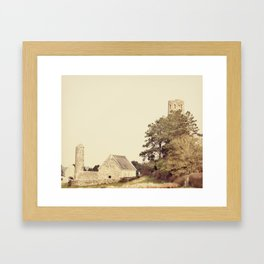 Clonmacnoise Framed Art Print