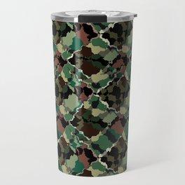 Camouflage . Travel Mug