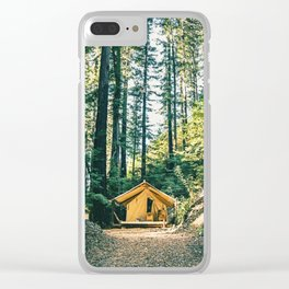 Camp Vibes / Big Sur, California Clear iPhone Case