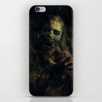 zombie iPhone & iPod Skins featuring Zombie by Sirenphotos