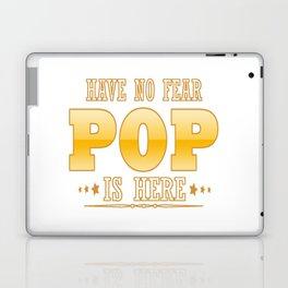 POP IS HERE Laptop & iPad Skin