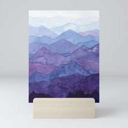 Blue Mountains Mini Art Print
