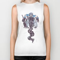 religious Biker Tanks featuring Playoff Beards by Dushan Milic