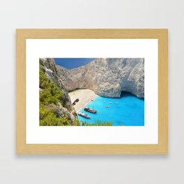 Zakynthos Framed Art Print