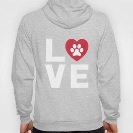 Animal Lover Dog Paw Print Love Dogs My Best Friend Shirt Hoody