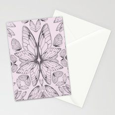 Rose Quartz Insect Wings Stationery Cards