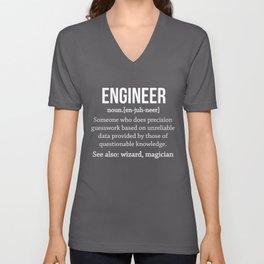 Engineer Unisex V-Neck