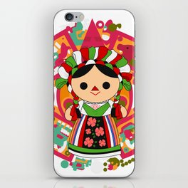 Maria 5 (Mexican Doll) iPhone Skin