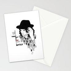 Jack White Cuts Like a Buffalo Stationery Cards