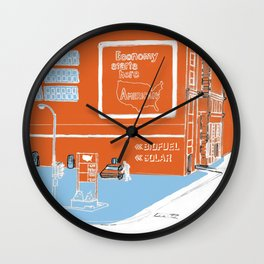 Everyday Is Sunday Wall Clock