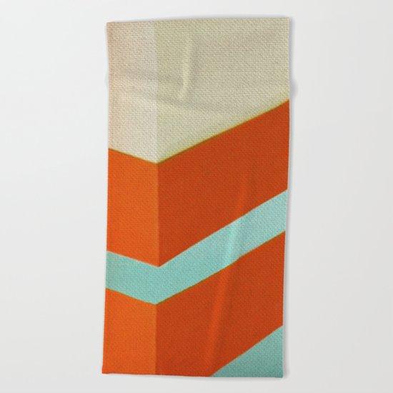Direction Change 8 Beach Towel
