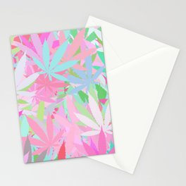 Marijuana Cannabis Weed Pot Spring Theme Stationery Cards