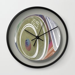 Weight Plates Orb Wall Clock