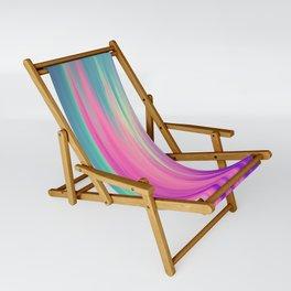 Beautiful Mermaid Colors Sling Chair