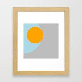 Eclipse single Framed Art Print