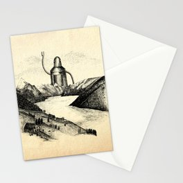 A Visitor From The North Stationery Cards
