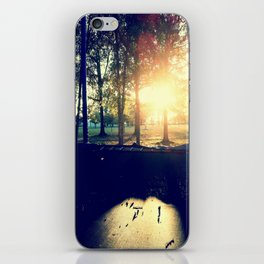 Backyard Sunset iPhone Skin