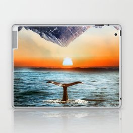 A whale and a morning Laptop & iPad Skin