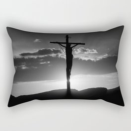 Christ of the Cross. Rectangular Pillow