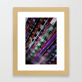 Broken phosphor #2 Framed Art Print