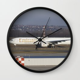 Emirates Boeing 777-300ER Wall Clock
