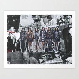 Mary Katrantzou, Fall 2014 Art Print