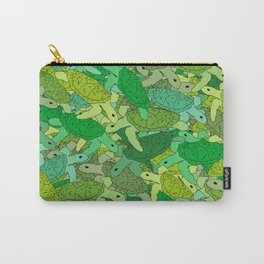 Turtle Mix Carry-All Pouch