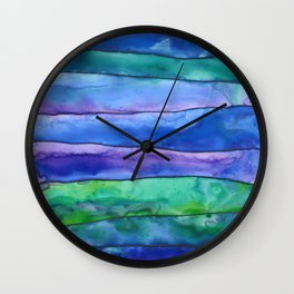 Undertow Wall Clock