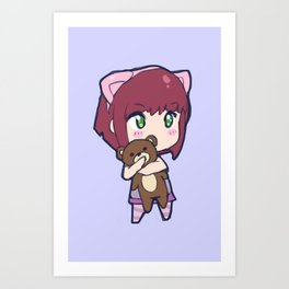 Cute Annie design Art Print