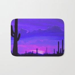 Desert Silhouette Bath Mat