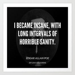 1   |  Edgar Allan Poe Quotes | 190518 Art Print