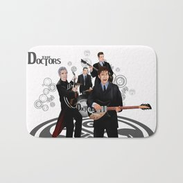 The Doctor who Renunion BAND iPhone 4 4s 5 5c 6 7, pillow case, mugs and tshirt Bath Mat