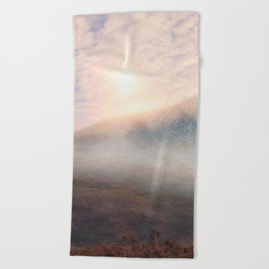 Pastel vibes 38 - Las Montañas Beach Towel