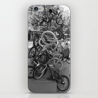 bikes iPhone & iPod Skins featuring Bikes by DarkMikeRys