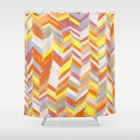 blanket Shower Curtains featuring Blanket by Tonya Doughty