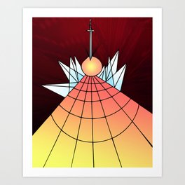 Cloven Orb Art Print