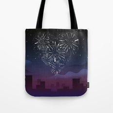 When I first saw you Tote Bag