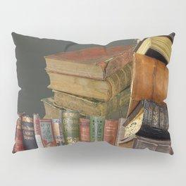 DECORATIVE  ANTIQUE LIBRARY, LEDGERS &  BOOKS ART Pillow Sham