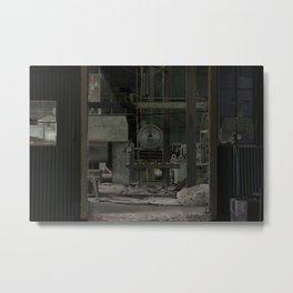 Behind Closed Doors Metal Print