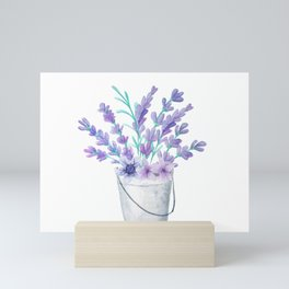 Lavanda 21.2 style Mini Art Print
