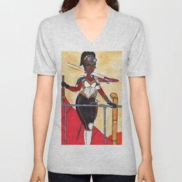 The Lady of The Air Unisex V-Neck