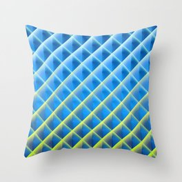 Deep Magic Grid 05 Throw Pillow