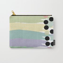 Pastel Line Up Carry-All Pouch