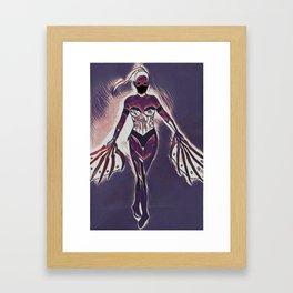 Kitana Kombat Framed Art Print