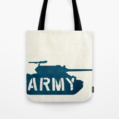 The Love Army Tote Bag